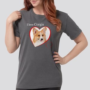 Corgi Womens Comfort Colors Shirt