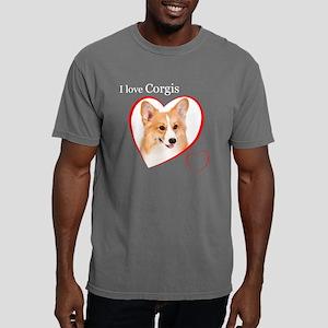 Corgi Mens Comfort Colors Shirt