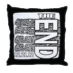MAYA 2012 Throw Pillow