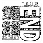 MAYA 2012 Square Car Magnet 3