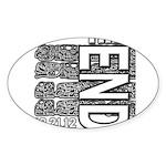 MAYA 2012 Sticker (Oval 50 pk)