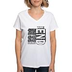 MAYA 2012 Women's V-Neck T-Shirt