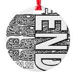 MAYA 2012 Round Ornament