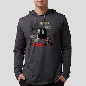 Gandhi MLK Madela Mens Hooded Shirt