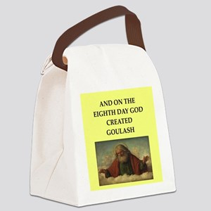 goulish Canvas Lunch Bag