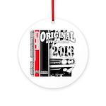 2013 Original Auto Ornament (Round)