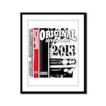 2013 Original Auto Framed Panel Print