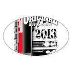 2013 Original Auto Sticker (Oval 50 pk)