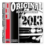 2013 Original Auto Square Car Magnet 3