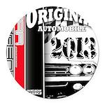 2013 Original Auto Round Car Magnet