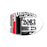 2013 Original Auto Oval Car Magnet