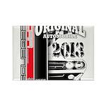 2013 Original Auto Rectangle Magnet