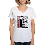 2013 Original Auto Women's V-Neck T-Shirt