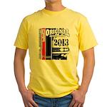2013 Original Auto Yellow T-Shirt