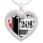 2013 Original Auto Silver Heart Necklace