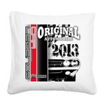 2013 Original Auto Square Canvas Pillow