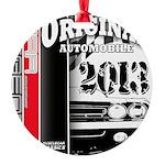 2013 Original Auto Round Ornament