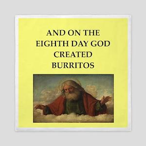 burritos Queen Duvet