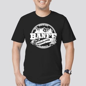 Banff Old Circle Men's Fitted T-Shirt (dark)