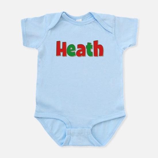 Heath Christmas Infant Bodysuit