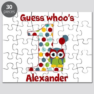Custom guess whos 1 boy Puzzle