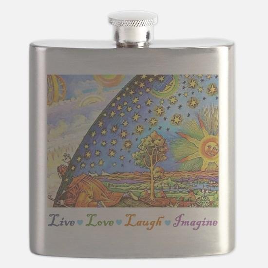 Live Love Laugh Imagine.jpg Flask