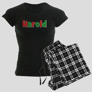 Harold Christmas Women's Dark Pajamas
