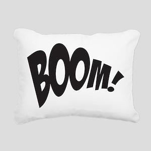 BOOM! Rectangular Canvas Pillow