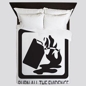 If at first you dont succeed Queen Duvet