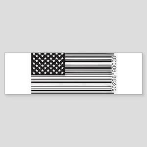 Capitalist Flag Sticker (Bumper)