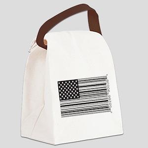 Capitalist Flag Canvas Lunch Bag