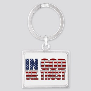 In God We Trust Keychains