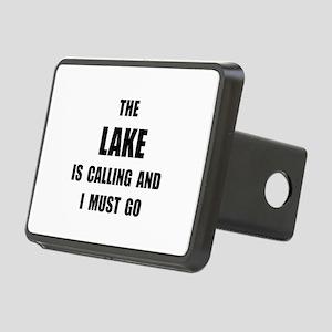 Lake Calling Rectangular Hitch Cover