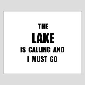 Lake Calling Small Poster