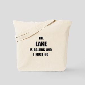 Lake Calling Tote Bag