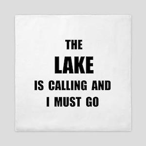 Lake Calling Queen Duvet