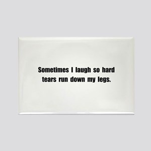 Laugh Tears Rectangle Magnet (10 pack)