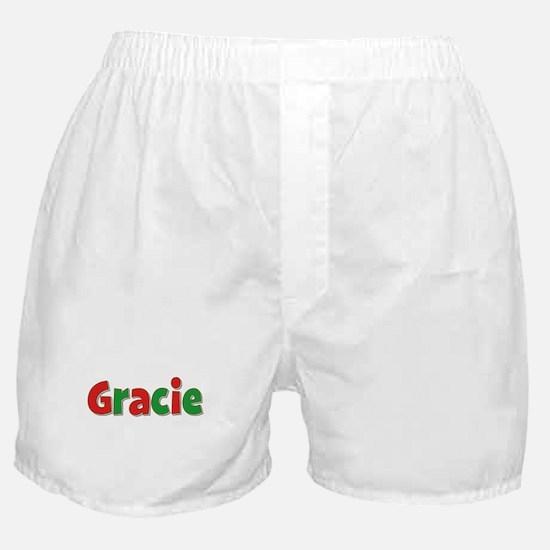 Gracie Christmas Boxer Shorts