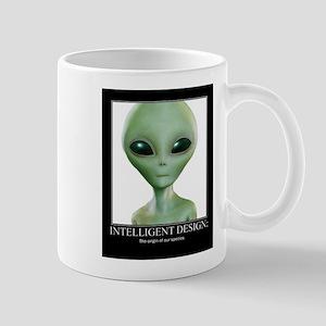 Intelligent Design: The origin of our species. Mug