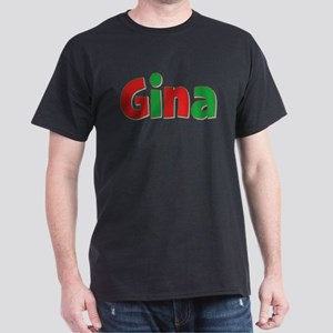 Gina Christmas Dark T-Shirt