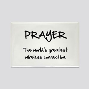 Prayer Wireless Rectangle Magnet (10 pack)