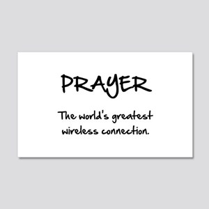 Prayer Wireless 20x12 Wall Decal