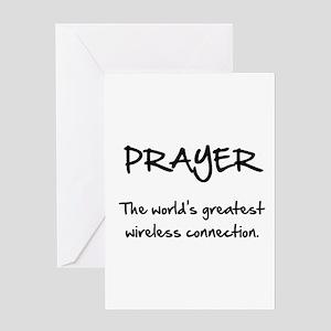 Prayer Wireless Greeting Card