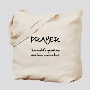 Prayer Wireless Tote Bag