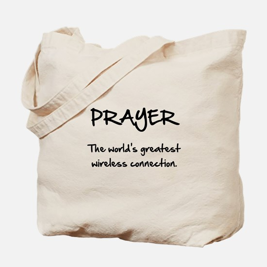 Prayer Wireless Tote Bag