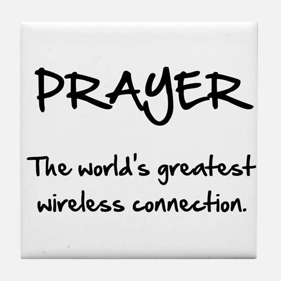 Prayer Wireless Tile Coaster
