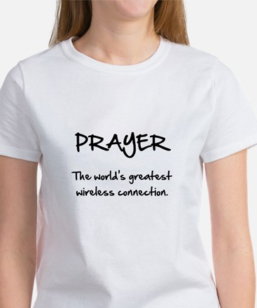 Prayer Wireless Women's T-Shirt