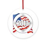 2013 Round Logo Ornament (Round)