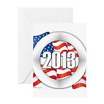 2013 Round Logo Greeting Card