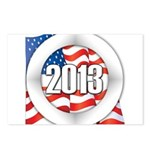 2013 Round Logo Postcards (Package of 8)